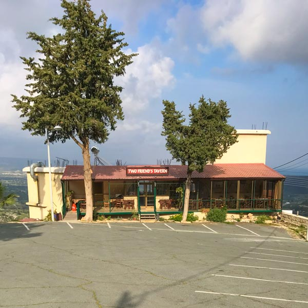 Tavern in Pissouri Village, Cyprus