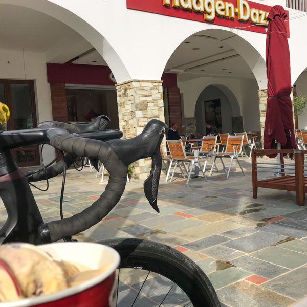 Road bike Aliathlon hotel, Cyprus