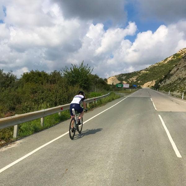 Climb to Pissouri village, Cyprus