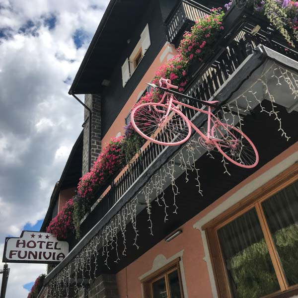 Hotel Funivia, Bormio is one of the best cycling hotels Europe
