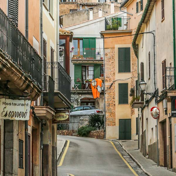 Mallorca Cycling's tours try to take in villages such as Bunyola in Mallorca