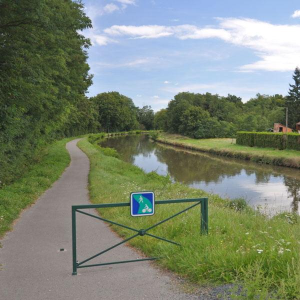 Cycling Voies Vertes, Loire, France