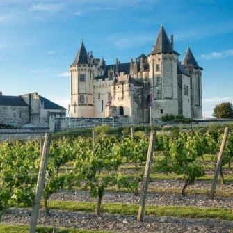 Saumur Castle, Loire Valley, France
