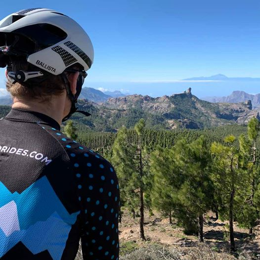 View from Pico de las Nieves, Gran Canaria