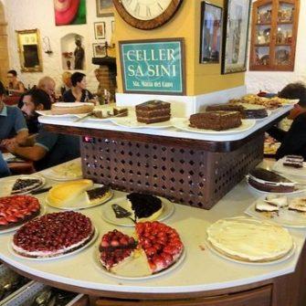 Celler sa sini coffee and cake shop in Mallorca