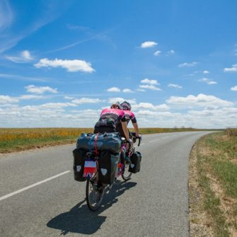 Tandemwow cycling around the world by tandem record attempt