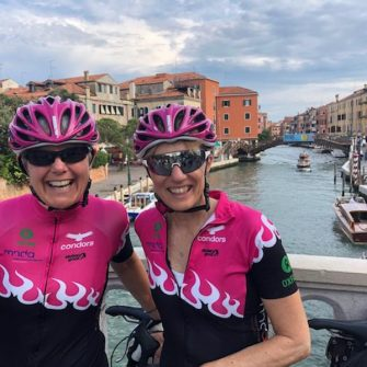 Cat and Raz from Tandem Wow in Venice