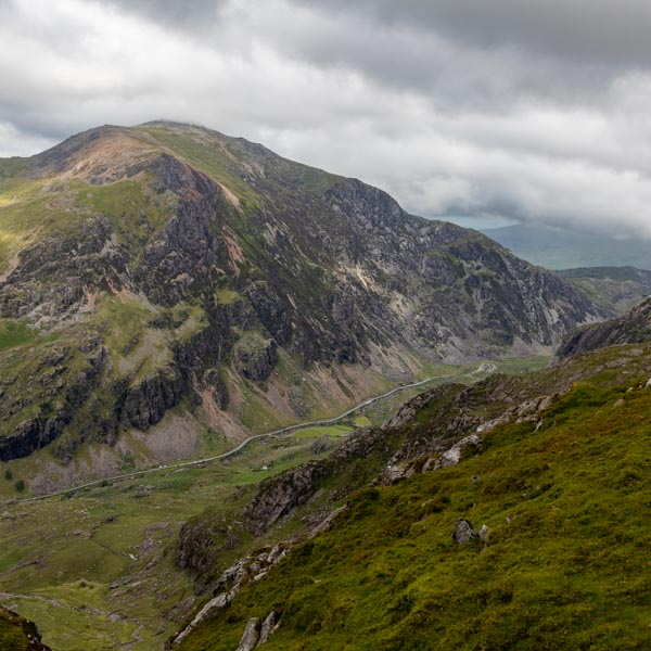 Llanberis Pass in the Snowdonia National Park, an exceptional cycling route