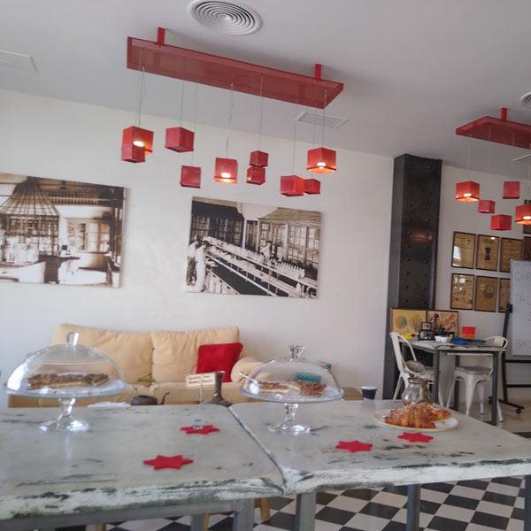 Der coffee shop costa Teguise, Lanzarote