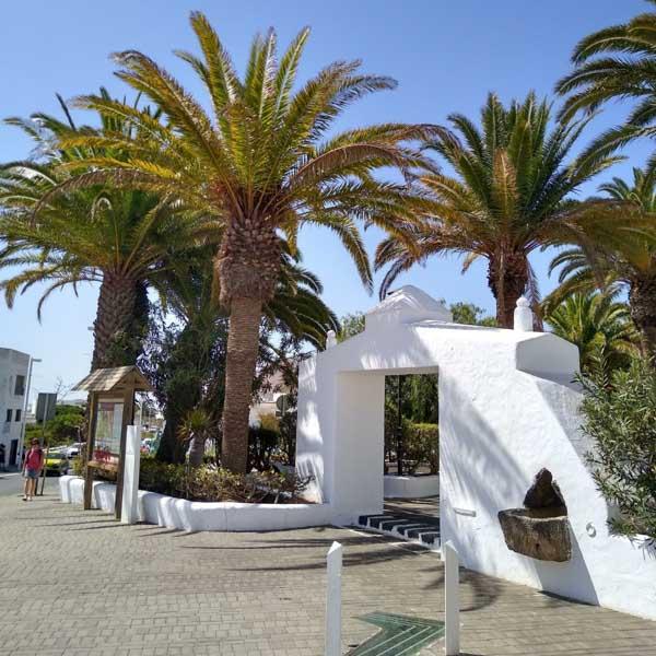 Pretty town of San Bartolome, Lanzarote