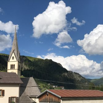 Arabba in the Dolomites, Italy is a good place for cyclists to stay