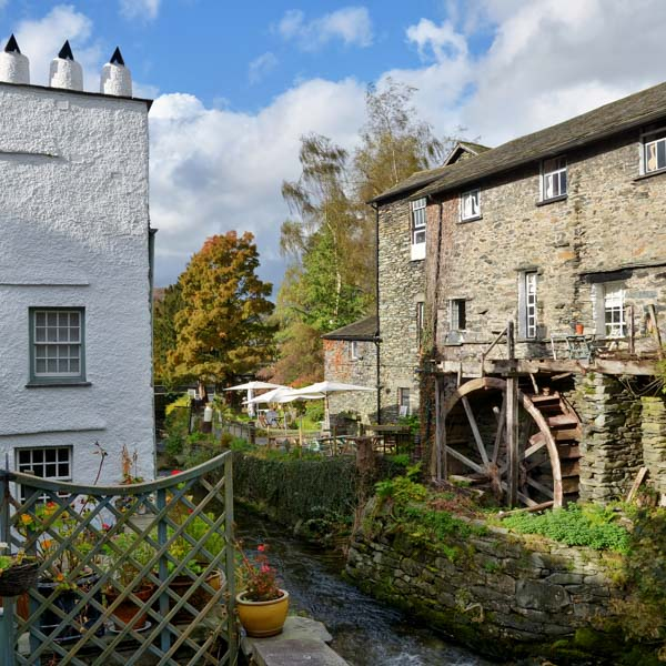Buildings in Ambleside, Lake District