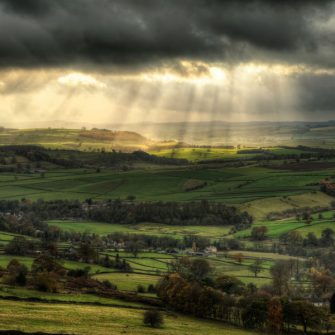 View over the Peak District