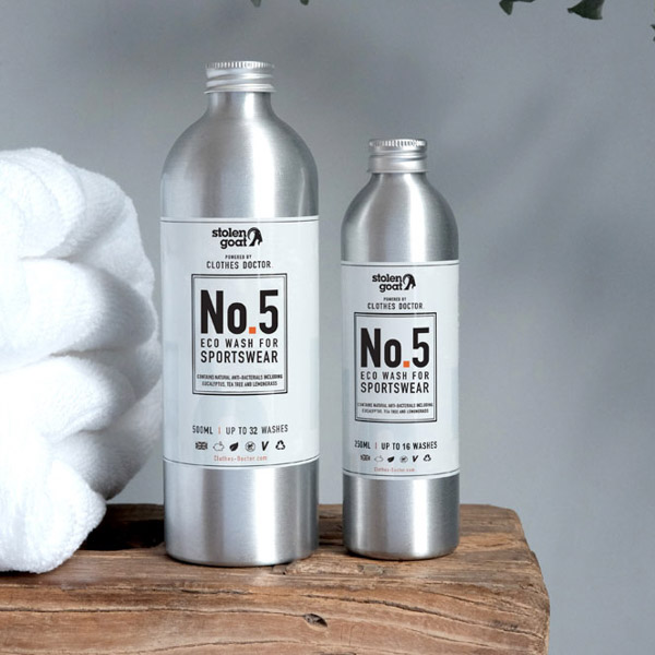 The best detergent for cycling clothes, a collaboration between The Clothes Doctor and Stolen Goat