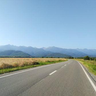 Transalpina road, romania