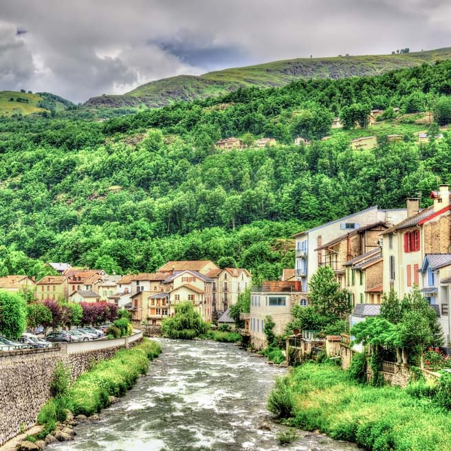 Ax les Thermes, a great base for cycling in the Pyrenees
