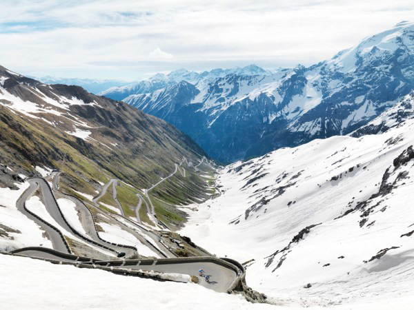 Passo Stelvio (by Michael Blann from his book Mountains: Epic Cycling Climbs)