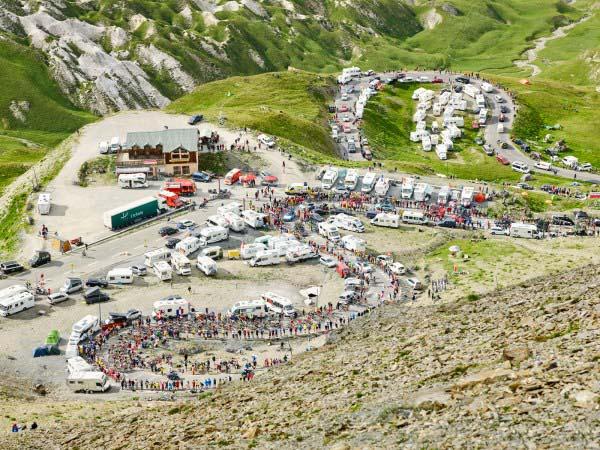 Summit of Col d Galibier by Michael Blann