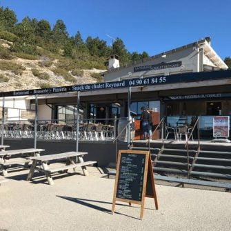 Chalet Reynard cafe on Mont Ventoux