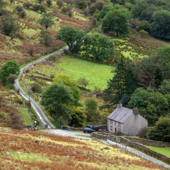 Remote house in Snowdonia Wales
