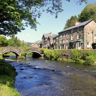 Village in Snowdonia with excellent cafes