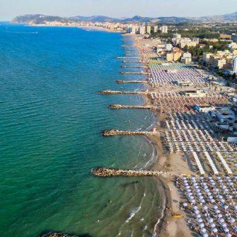 Riccione beachfront, Italy
