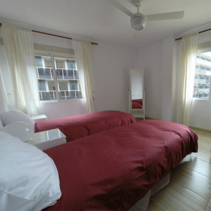Bedroom in Calpe cycling flat