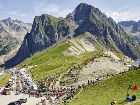 Mountains by Michal Blann view of the Tourmalet