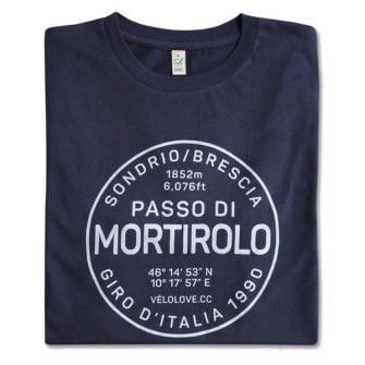 Mortirolo t-shirt in blue