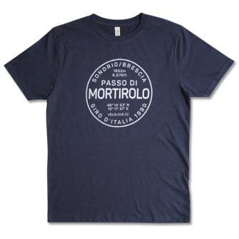 Mortirolo tshirt in blue