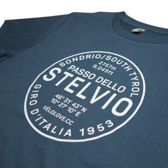 Stelvio t shirt in blue