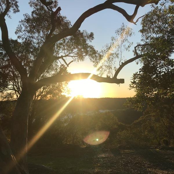 Sunrise at Bobbin Head near Sydney, Australia