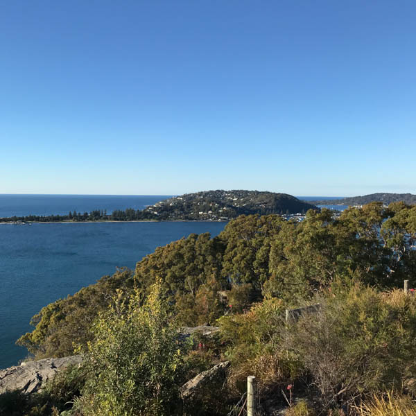 View from West Head lookout, near Sydney, Australia