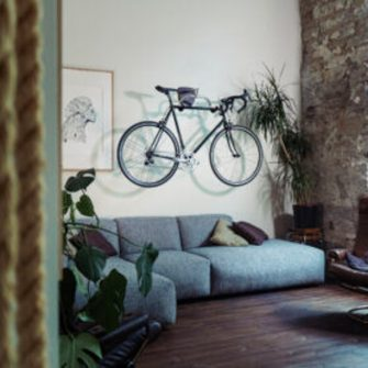 Cycling wall storage solution unique gift for a cyclist