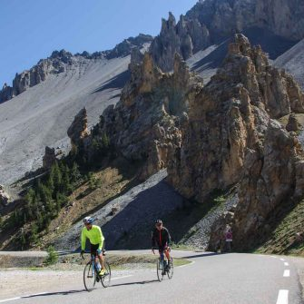 Col d'Izoard French Alps cycling trip