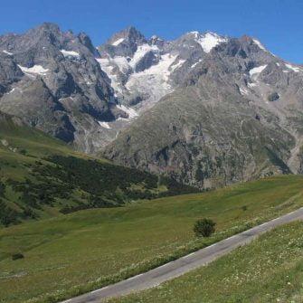 Descent Galibier, Alps, France