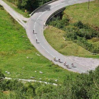 Summer on the Route des Grandes Alpes, France