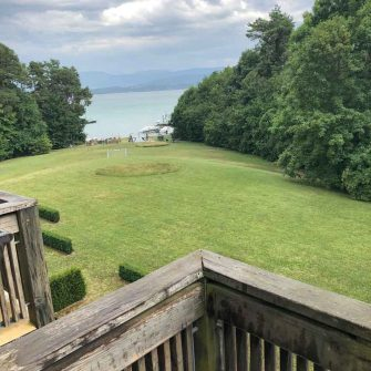 Hotel with a view near Lake Geneva/Lac Leman