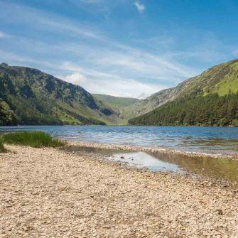Gleandalough lake, Ireland