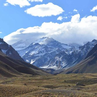 Andes mountains are a big challenge