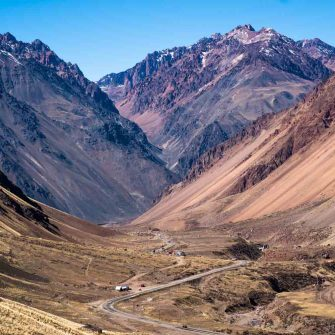 Cycling through the Andes of South America