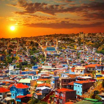 Valparaiso Chile, the starting point for this south america coast to coast adventure
