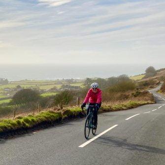 Cycling Kildonan cycle route Arran