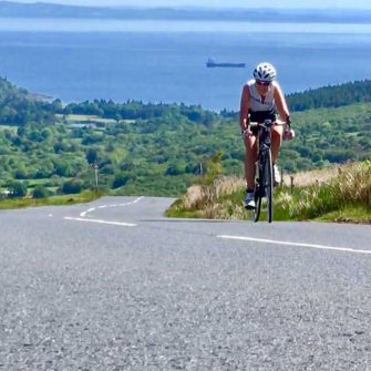 Cycling in Arran on The String Road