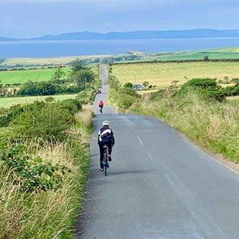 Cycling south on isle of arran scotland