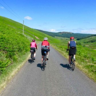 Cycling on Arran on the Ross Road