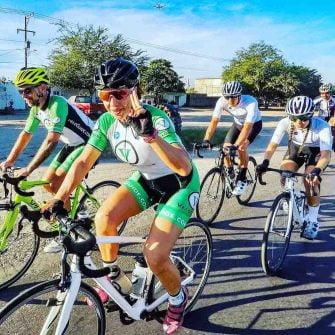 Veloguide cyclists Bucerias mexico