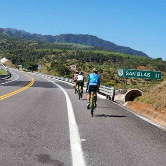Heading to San Blas Mexico by bike