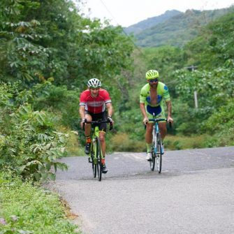 Cycling El Tuito Mexico