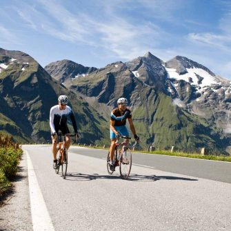 Cyclists on Grossglockner Austria bike climb(credit: Pinzgau_Heiko Mandl)
